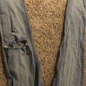 Vanilla Star Pants - Light washed vanilla star jeans